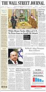 The Wall Street Journal – 19 September 2019