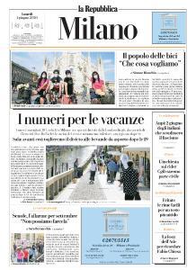 la Repubblica Milano - 1 Giugno 2020