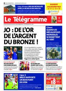 Le Télégramme Quimper – 08 août 2021