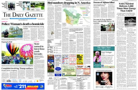 The Daily Gazette – September 20, 2019