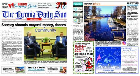 The Laconia Daily Sun – November 20, 2019