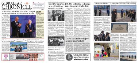 Gibraltar Chronicle – 04 November 2020