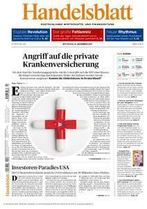Handelsblatt - 13. Dezember 2017