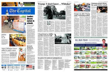 The Capital – November 10, 2018