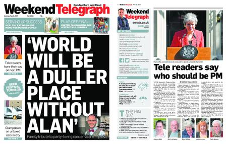 Evening Telegraph First Edition – May 25, 2019