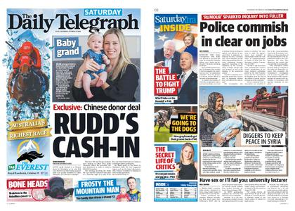 The Daily Telegraph (Sydney) – October 12, 2019