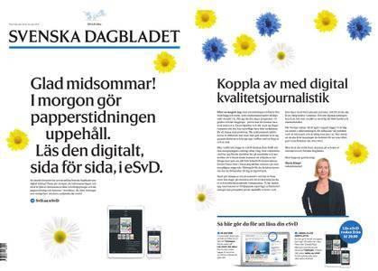 Svenska Dagbladet – 22 juni 2018