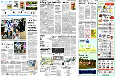The Daily Gazette – August 11, 2019