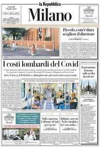 la Repubblica Milano - 3 Luglio 2020