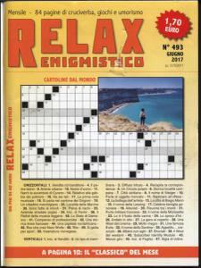 Relax Enigmistico N.493 - Giugno 2017
