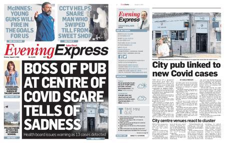 Evening Express – August 03, 2020