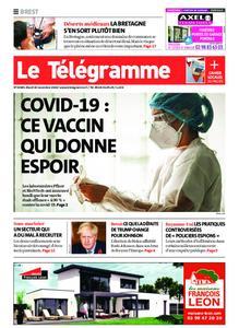Le Télégramme Brest – 10 novembre 2020
