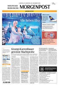 Solinger Morgenpost – 23. November 2019