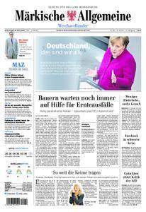 Märkische Allgemeine Westhavelländer - 22. März 2018