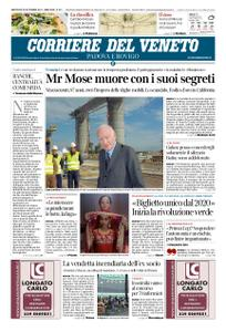 Corriere del Veneto Padova e Rovigo – 25 settembre 2019