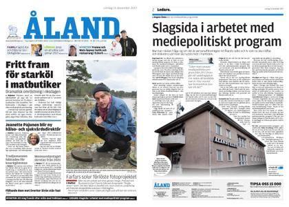 Ålandstidningen – 16 december 2017