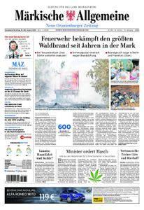 Neue Oranienburger Zeitung - 25. August 2018