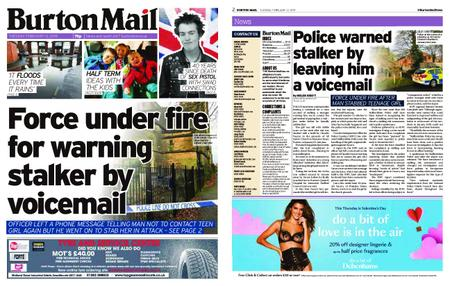 Burton Mail – February 12, 2019