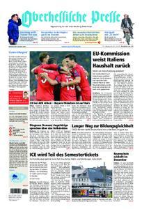 Oberhessische Presse Marburg/Ostkreis - 24. Oktober 2018