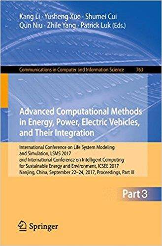 Advanced Computational Methods in Energy, Power, Electric Vehicles, and Their Integration, Part III