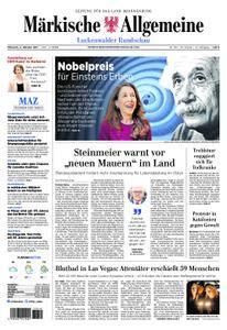 Märkische Allgemeine Luckenwalder Rundschau - 04. Oktober 2017