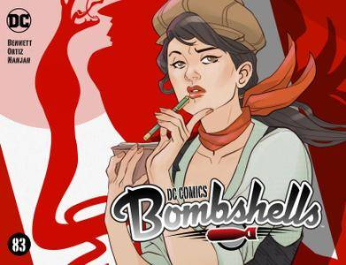 DC Comics - Bombshells 083 2017 webrip MagicMan-DCP