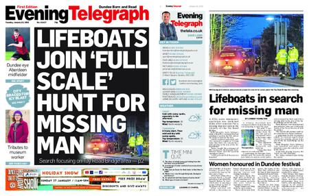 Evening Telegraph First Edition – January 22, 2019