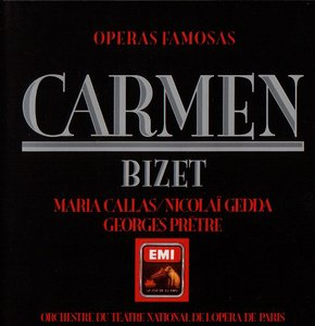 Carmen - Maria Callas (1964) - Bizet [FLAC] [3 Disc] [Remastered 1985]