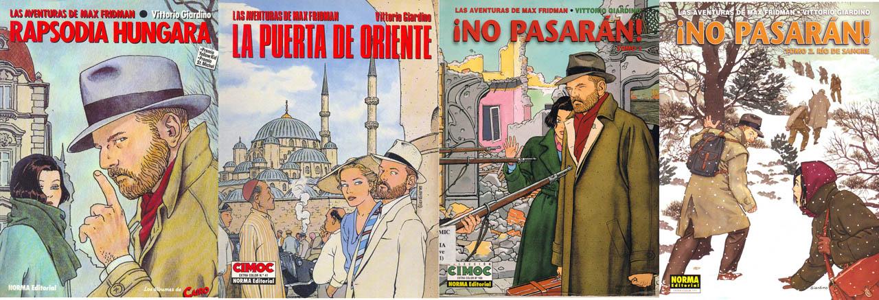 Las Aventuras de Max Fridman (cuatro tomos)