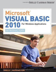 Microsoft Visual Basic 2010 for Windows Applications: Introductory (repost)