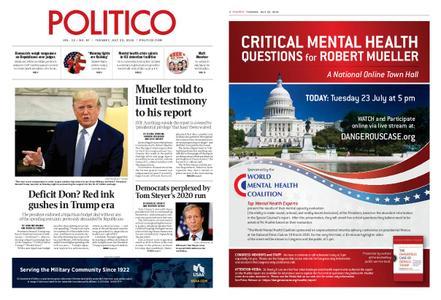 Politico – July 23, 2019
