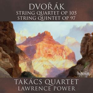 Takács Quartet, Lawrence Power - Dvořák: String Quartet Op.105, String Quintet Op.97 (2017)