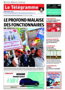 Le Télégramme Brest Abers Iroise – 10 mai 2019