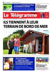 Le Télégramme Ouest Cornouaille – 16 mai 2021
