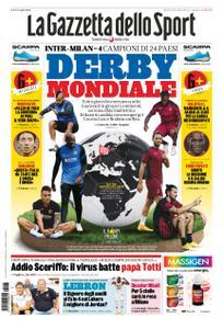 La Gazzetta dello Sport Roma – 13 ottobre 2020