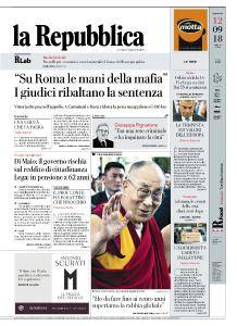 la Repubblica - 12 Settembre 2018