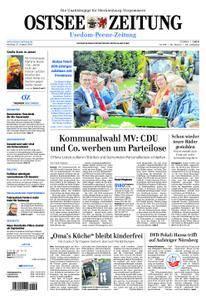 Ostsee Zeitung Wolgast - 27. August 2018