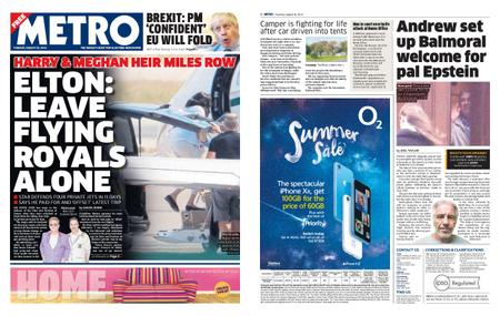 Metro UK – August 20, 2019