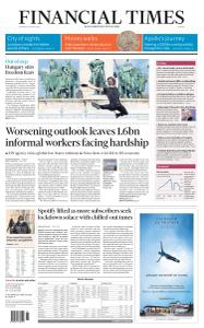 Financial Times Europe - April 30, 2020