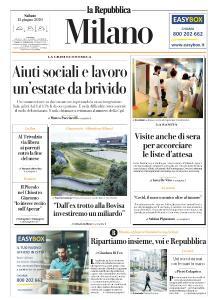 la Repubblica Milano - 13 Giugno 2020