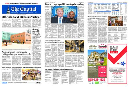 The Capital – March 16, 2020