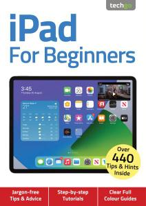 iPad For Beginners - 4th Edition - November 2020