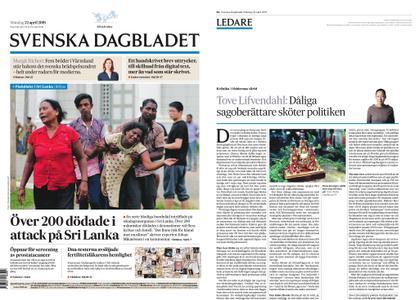 Svenska Dagbladet – 22 april 2019
