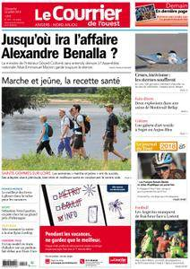 Le Courrier de l'Ouest Angers - 22 juillet 2018