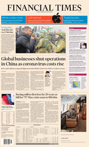 Financial Times Europe – 30 January 2020
