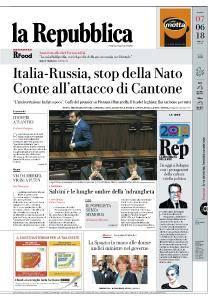 la Repubblica - 7 Giugno 2018