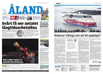 Ålandstidningen – 18 februari 2019