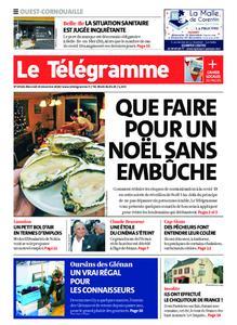 Le Télégramme Ouest Cornouaille – 23 décembre 2020