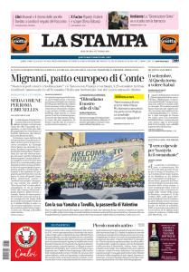 La Stampa Torino Provincia e Canavese - 11 Settembre 2019