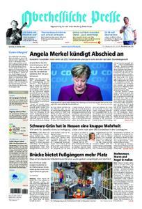 Oberhessische Presse Marburg/Ostkreis - 30. Oktober 2018